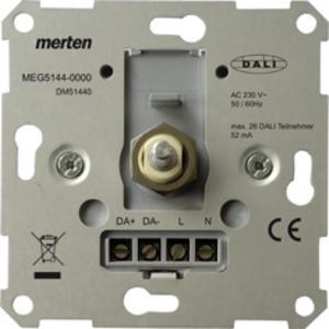MEG5144-0000, DALI-Drehdimmer-Einsatz Tunable White mit Spannungsversorgung