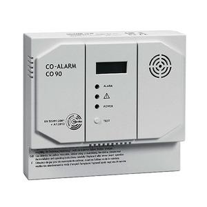 CO90-12, Kohlenmonoxidmelder (CO-Alarm), 12V DC, CO-Melder mit Relais