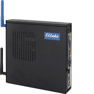 SafeIV-sz, Smart Home-Zentrale schwarz mit LAN- und ggf. GSM-Kommunikation, 199x180x39mm