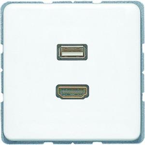 MA CD 1163 WW, HDMI und USB, Tragring, Schraubbefestigung, bruchsicher