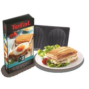 Platten-Set Nr. 1 Sandwich, Schwarz/Edelstahl