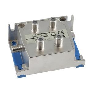 EAX 24, 4-fach-F-Endabzweiger 5-1000 MHz, Abzweigdämpfung: 11,0/12,0 dB