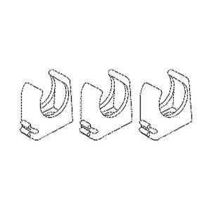 796.361, RO-CLIP-Rohrschelle, NW 36, für Kabel-Ø 38-39 mm, Kunststoff PP, RAL 7035, lichtgrau