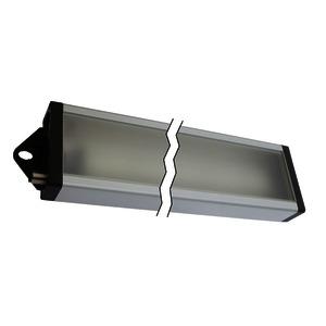 AO000483, LED Arbeitsplatzleuchte, 35x545x85mm, kaltweiß, 24W, 100°, 3600lx, 5500K, M12-Stecker 4polig, I...