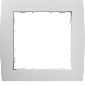 1-fach Rahmen STIL, brillantweiß