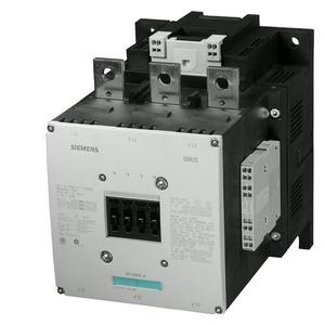 3RT1075-2AM36, Schütz,AC-3,400A/200kW/400V,3-polig,AC/DC200-220V,2S+2Ö,Anschlussschiene/Federzu
