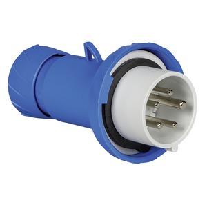 CEE Stecker, Schraubklemmen, 16A, 3p+N+E, 200-250 V AC, IP67
