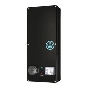 Wallbox SLIM-LINE RFID mit einem Ladepunkt Typ2 16A/11kW, elektronischem Zähler und Premium-Monitoring-98210037