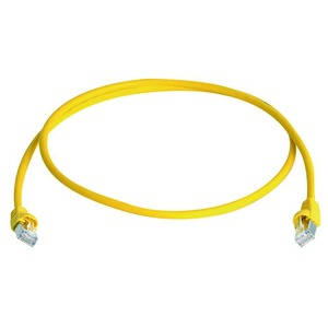 Patchkabel Cat.5e MP8 FS 100 LSZH-0,5 m, gelb