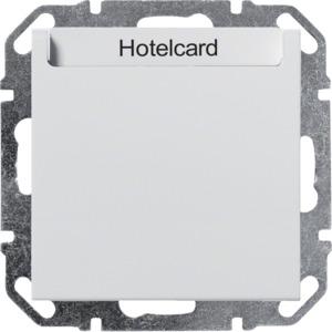 Hotelcard-Schalter, Elektronik, b.weiß