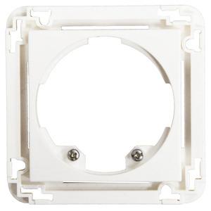 Zentralplatte Indoor 140 45x45, Zentralplatte für den automatischen Wandschalter Indoor 140-L, Abdeckung zur Kombination mit dem Sensoreinsatz.