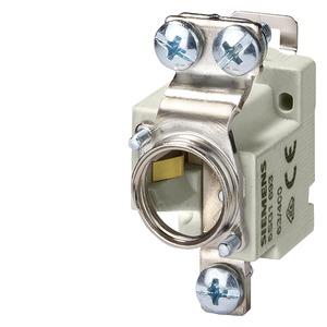 NEOZED, Sicherungssockel, D02, 1-polig, 63 A, Un AC: 400 V, Un DC: 250 V, ...