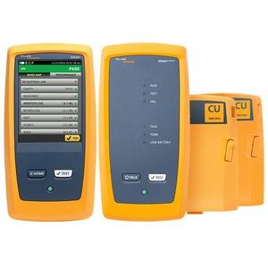 DSX2-8000/GLD INT, 2 GHz DSX-8000  Cat 8 CableAnalyzer™ WLAN aktiviert: Versiv2 Main & Remote-Einheit + 2 DSX Cat 8 Kupfer-Module + 1Jahr Gold Support