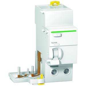 FI-Block Vigi iC60N/H, 2P, 63A, 30mA, Typ A, SI