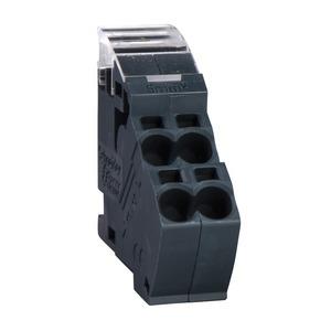 Gehäusezubehör, Klemmblock 4x6mm2, Satz mit 10 Stück