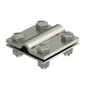 252 8-10xFL30V4A, Kreuzverbinder 8-10mm, V4A, 1.4571
