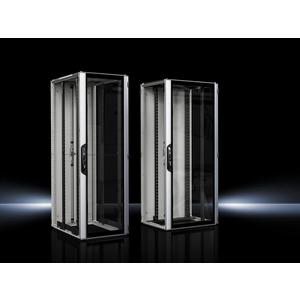 VX 5309.126, VX IT, geschlossen, 19-Profilschienen standard,RAL7035,BHT 800x2000x1000mm,42HE