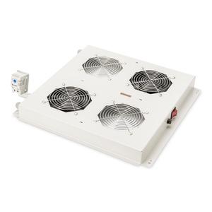Dachlüftereinheit für DIGITUS Unique & Basic 2 Lüfter mit Thermostat