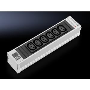 DK 7856.080, PSM 6-fach Kaltgeräte Einsteckmodul C13 ohne Sicherung