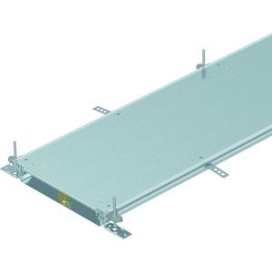 OKA-W4006050R, Kanaleinheit estrichbündig blind, rastend 2400x400x60, St, FS, Preis per Stück, L=2,4m