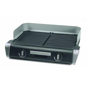 TG8000, BBQ Family Grill, Schwarz/Silber