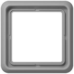 CD 581 GR, Rahmen, 1fach, für waagerechte und senkrechte Kombination