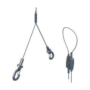 SLK2YH500L3, nVent CADDY Speed Link SLK mit Y-Haken, 3 m (9,9') Länge, 0,5 m (19,6) Y Länge