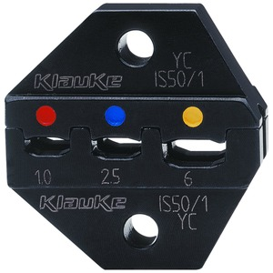 Presseinsatz IS 50, Doppelpressung, 0,1 - 1 mm², Serie 50