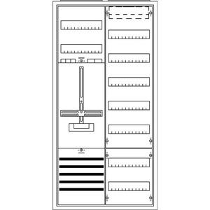 KS215, Komplettschrank, Aufputz mit Zählerkreuz, 2/3A 1Z1V7