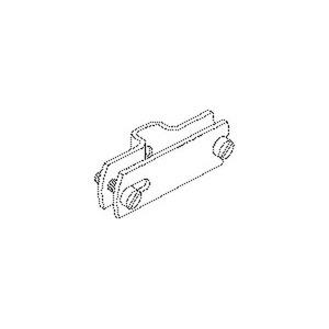 423/11, Bandeisen-Abstandhalter,14x50x2 mm, Stahl, feuerverzinkt DIN EN ISO 1461