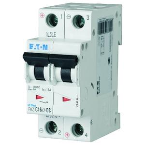 FAZ-C16/2-DC, Leitungsschutzschalter, 16A, 2p, C-Char, DC