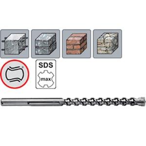 270 250 320, SDS-max Hammerbohrer W2 TURBOKEIL X-Form, mit SDS-max Schaft, 4 Schneider, 25,0 x 320 mm
