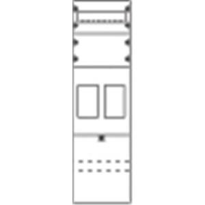 1ZF2107, Zählerfeld eHZ BH2 1FB nicht verdrahtet mit BKE-I