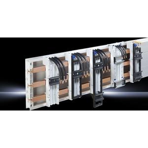 SV 9340.760, OM-Adapter 16A, AWG12, 3-polig, BxH 45x272mm, TS45D, Pinblock, Tragrahmen 60 mm