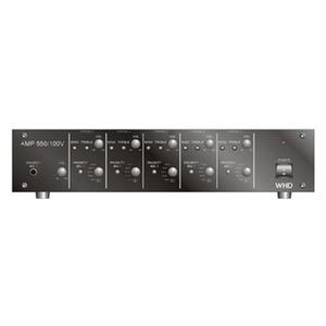 AMP550, AMP 550, schwarz Multikanalverstärker 5x50W