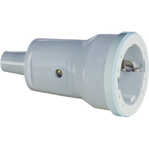 SCHUKO PVC-Kupplung, grau