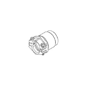 923/21, Kabelverschraubung ext. Zugentlastung, Pg 21, Kabel-Ø  17-19 mm, rund, Messing, vernickelt