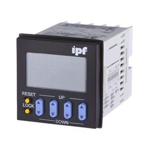 zähler impuls 48x48,LED,Dek-Schalter 100-240VAC,Rel,30Hz/5kHz,4stell,Vorw