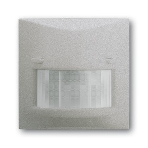 6800-783-104, Busch-Wächter 180 UP Sensor Komfort II, alusilber, impuls, Bedienelemente für Bewegungsmelder/Komfortschalter