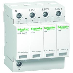 Überspannungsabl. iPRD8, Typ 3, Steckbare Schutzmodule, 3P+N, Imax 8kA