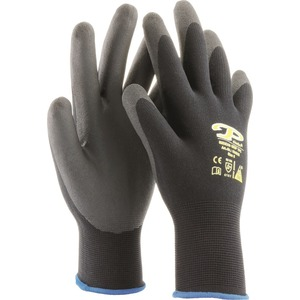 TFC Polyamidhandschuh Gr. 8, schwarz, 5-Finger