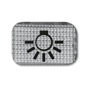 2145 LI, Tastersymbol, transparent, glasklar, SI/Reflex SI, Abdeckungen für Schalter/Taster
