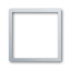 1716-783, Zentralscheibe, alusilber, impuls, Abdeckungen für LED-Licht