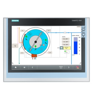6AV7863-2BB10-0AA0, SIMATIC IFP1500 Flat Panel 15 Display (16:10), mit Touch und Tasten, extended Version bis 30m, 1280x 800 Pixel, für DC 24V und 100-240V AC, Display-P