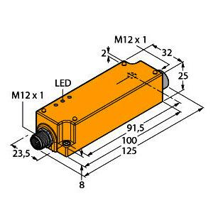 IMC-AI-11EX-I/L, Analogsignaltrenner, 1-kanalig, TÜV 07 ATEX 553222