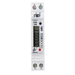 EcoCount® WSD 32, EcoCount WSD 5(32)A 230 V Wechselstromzähler MID