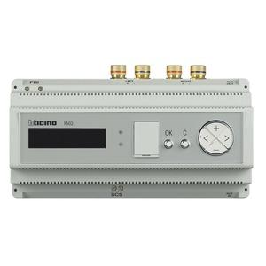 Stereo-Leistungsverstärker, Leistung 2× 30 Wrms an 8 Ohm, Stromversorgung 230 V a.c. 10 TE DIN