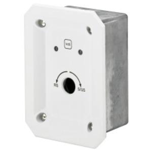 SKSU/BA, Kontaktschloss für Profilhalbzylinder, UP-Ausführung, Bohrschutz