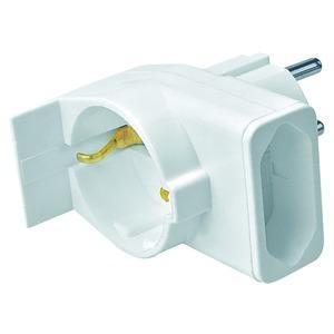 3742, Kombi-Duplex-Stecker, weiß