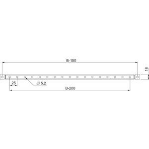Spacial SF/SM-Türtraverse, 1000-mm-Schrank, Verpackungseinheit: 2 Stück